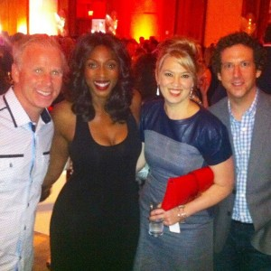 Tiff 2014 with Gerry Dee, Naomi Snieckus & Matt Baram
