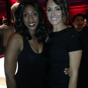 Tiff 2014 with Natalie Brown