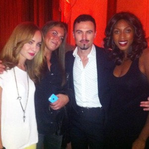 Tiff 2014 with Vanessa Piazza, Ksenia Solo & Paul Amos